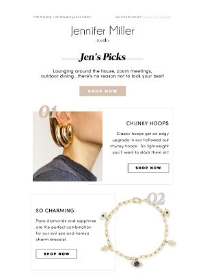 Jennifer Miller Jewelry - Jen's Picks For All Occasions