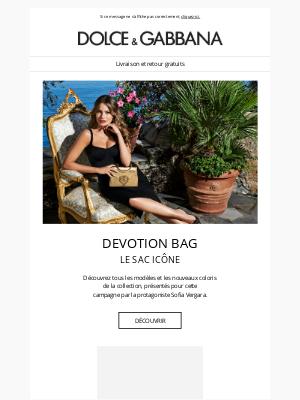 Dolce & Gabbana - Devotion Bag : achetez les versions de la saison
