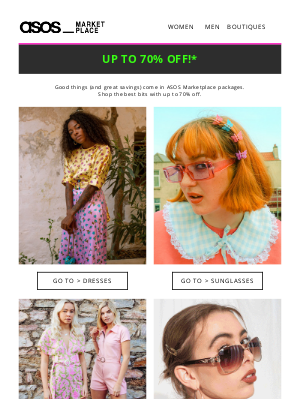ASOS (UK) - PSA: Our biggest sale EVER is here 💸