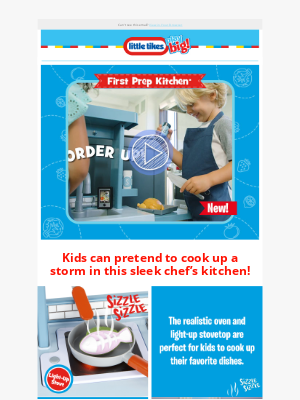 Little Tikes - Introducing: the First Prep Kitchen! 🍳