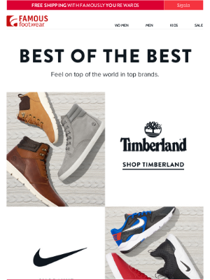 Famous Footwear - All your favorite brands, all right here