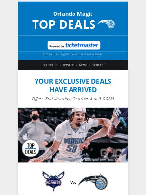 Orlando Magic - 📣 Save up to 38% off tickets! Don't miss out!