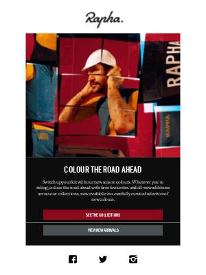 Rapha - New season, new colours