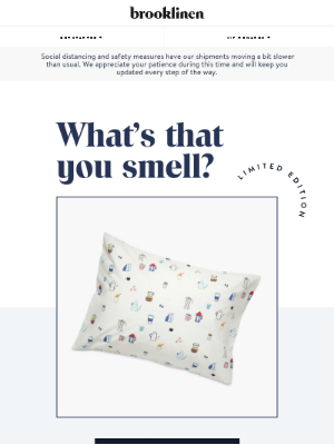 SCENTED PILLOWCASES (???)