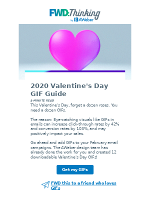A dozen free GIFs for your Valentine's Day emails 🌹