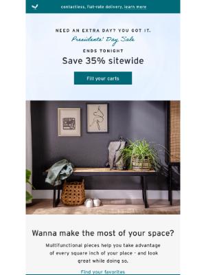 Joybird - Presidents' Day Sale: Treat Yourself