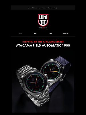 Luminox - New Automatic Swiss Movements ⚙
