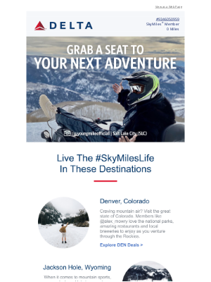 Delta Air Lines - Get On Board With Fare Deals