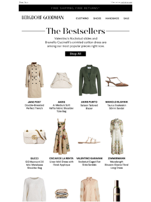 The Bestsellers, Plus Thousands of New Styles Added to Designer Sale