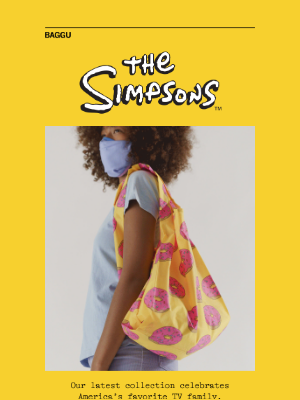 BAGGU - The Simpsons Collection
