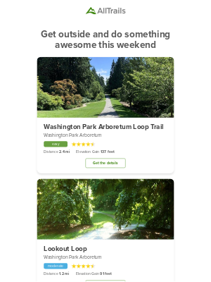 AllTrails - Check out these top-rated trails near you 🗺️📍