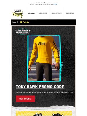Vans - New exclusive rewards, sweeps + more!