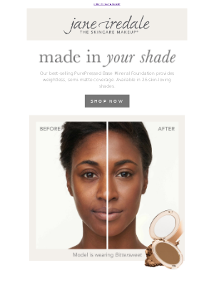 jane iredale - Give our #1 foundation a try