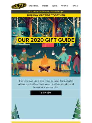 KEEN - Gift Ideas Inside