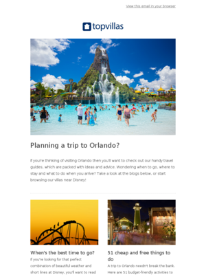 - Planning a trip to Orlando? Start here!
