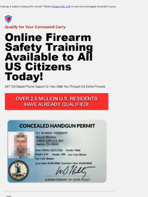 Kohl's - This company is helping the US during the pandemic by offering online concealed carry certificates.