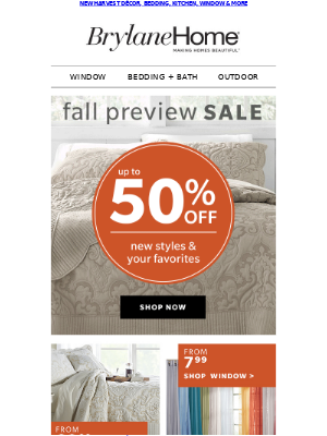 FALL PREVIEW SALE | UP TO 50% OFF