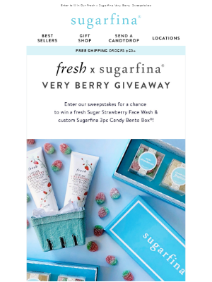 🍓 We're Giving Away A Sweet Treat With Fresh
