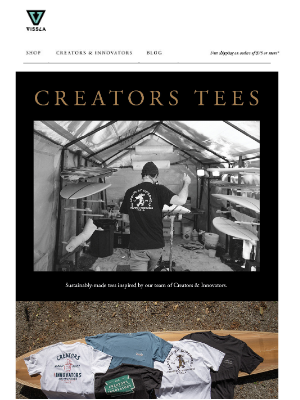 VISSLA - Creators Tees | Made using 100% Organic Cotton