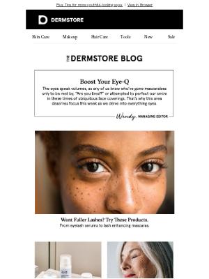 DermStore - Blog: 6 lash enhancing products Dermstore shoppers love