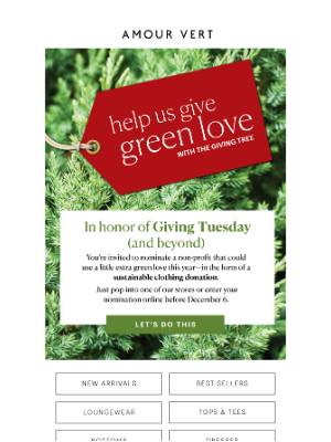 Amour Vert - Help Us Give (Green Love) Back