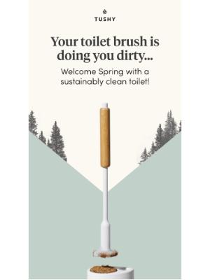 Tushy - Intro-deucing the TUSHY Brush!