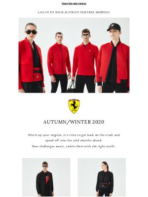 Ferrari - New Looks | Autumn/Winter 2020