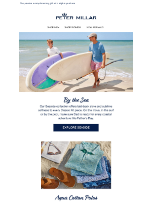 Peter Millar - Relaxed Seaside Picks For Father's Day