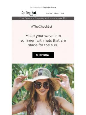 Ben Sherman - Summer Checklist : Sun Hats ! 👒