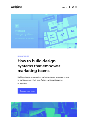 🚀 Design systems that will empower your marketing team