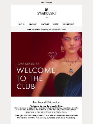 Welcome to the Swarovski Club