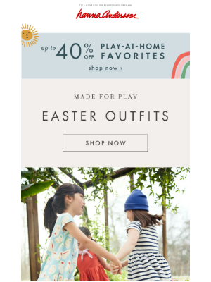 Hanna Andersson - Outfits for every Easter adventure