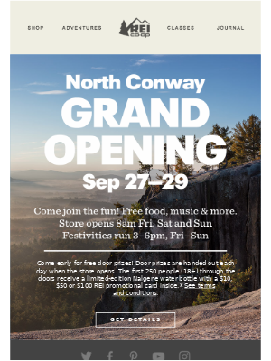 Now Opening in Your Neck of the Woods
