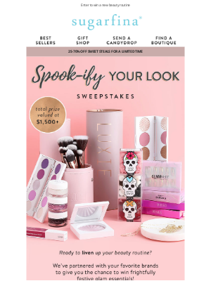 Sugarfina - Spook-ify Your Look Sweepstakes