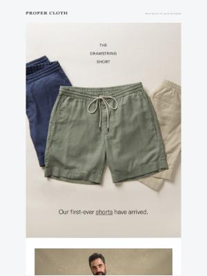 Proper Cloth - Our First-Ever Shorts // Last Call for Indigo