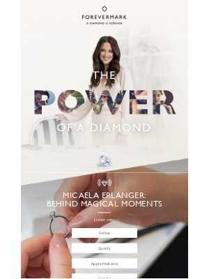 Forevermark - A story of style from Micaela Erlanger