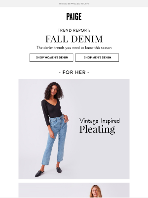 PAIGE - Trend Report: The Fall Denim Trends You Need