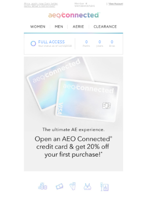 Get even more AEO Connected perks!