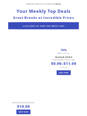Boscov's - Incredible Values! Great Prices!