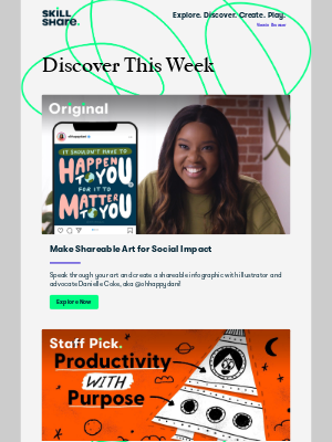 Skillshare - Delores, explore illustration for impact, reconnect with your purpose, and more!