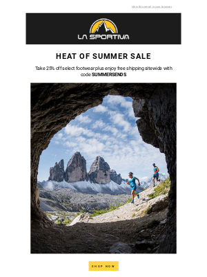 Heat of Summer Sale