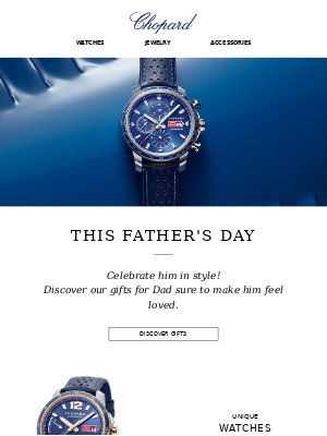 Chopard - Father's Day is almost here