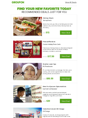 Groupon - Take a Tour of Today's Deals