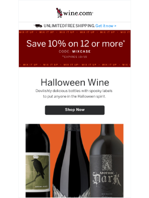 Wine - Don't Miss 10% off 12 or More