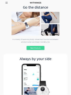 Withings - Can wearing a smartwatch benefit your health?