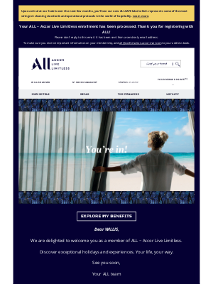 Fairmont Hotels - Welcome to ALL – Accor Live Limitless