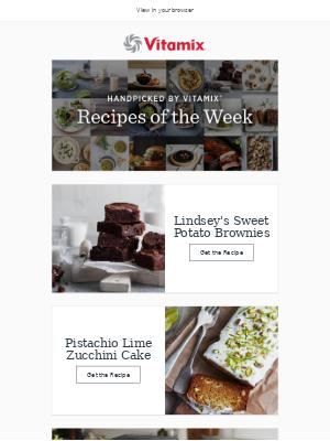 Vitamix - Recipes of the Week: Gluten-Free Desserts