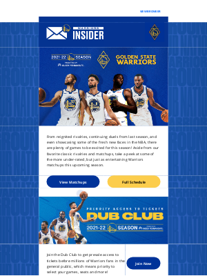 Golden State Warriors - Check Out The Under-Rated Warriors Matchups This Season