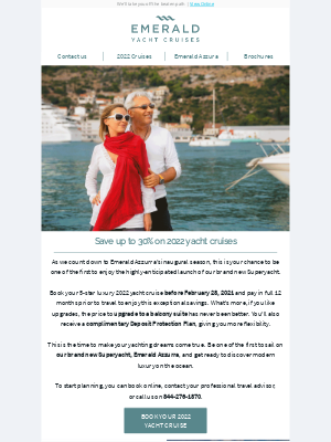 Emerald Waterways - Ronald, save up to 30% on 2022 yacht cruises