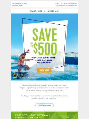 Royal Caribbean Cruises - Check out these exclusive resident rates for your state